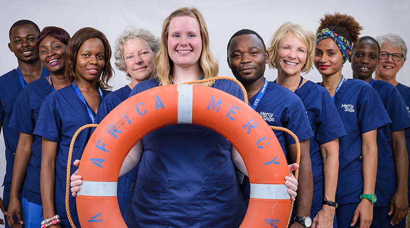 Mercy Ships, Volunteers