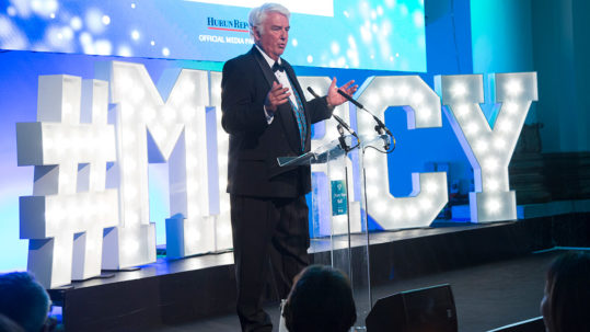 Don Stephens at the Mercy Ships Ball 2018