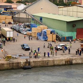Conakry dock Guinea