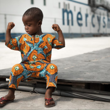 Photo: Mercy Ships patient Juste