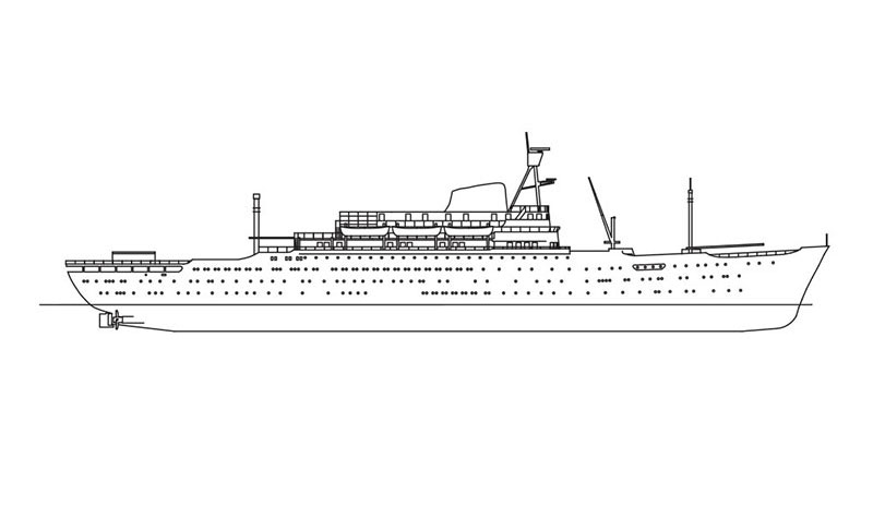 Line drawing of the ANASTASIS