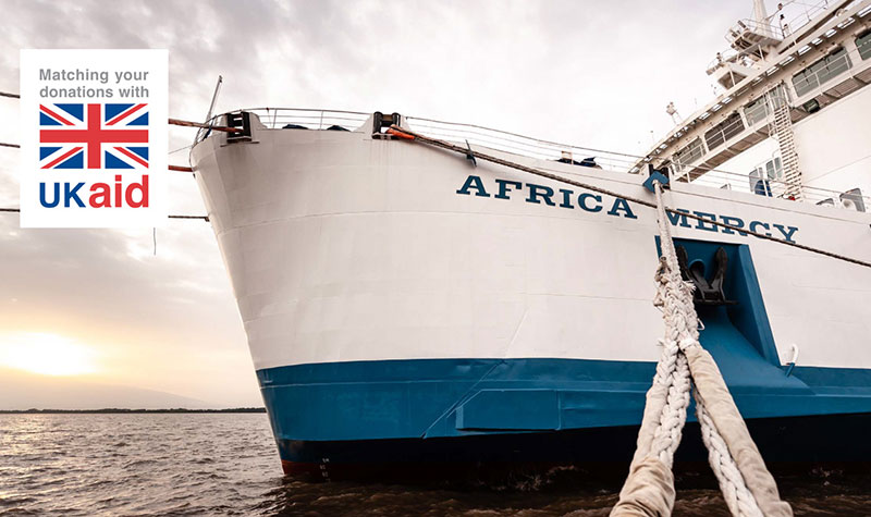 Africa Mercy in port
