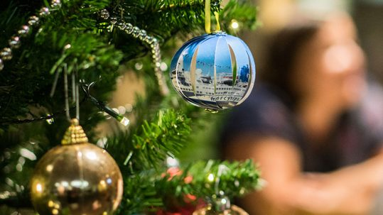 Mercy Ships christmas bauble
