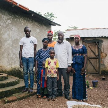 Amadou and his family