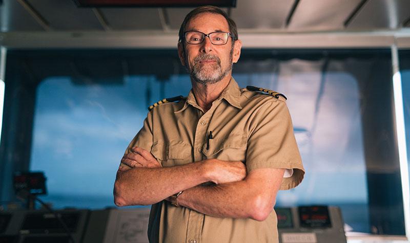 Captain Perez, Mercy Ships
