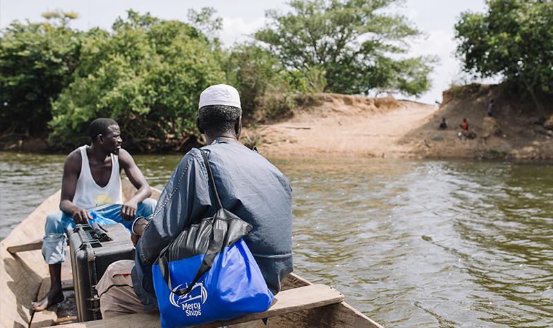 Patient Crossing a river