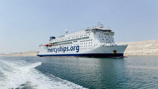 Mercy Ships UK Global Mercy Sailing